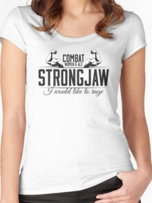 Strongjaw - Critical Role - Premium Design Women's Fitted Scoop T-Shirt