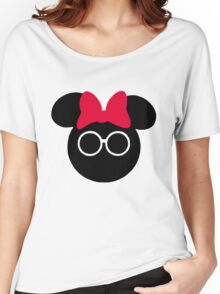 The Spectacle that is Minnie Mouse Women's Relaxed Fit T-Shirt