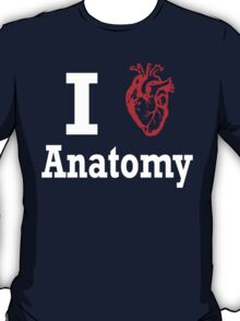 I heart anatomy white T-Shirt
