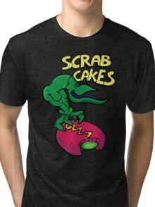 Scrab Cakes Tri-blend T-Shirt