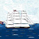 Crystal Ship by zfollweiler