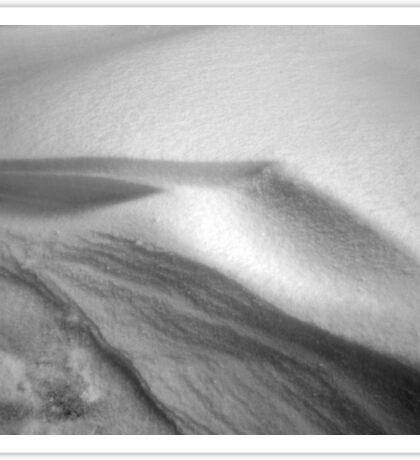 Snow Dune Sticker