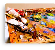 Mess of Color Canvas Print