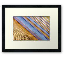 \ \ \ \ \  mesh - tastic \ \ \ \ \ Framed Print