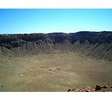 METEOR CRATER ARIZONA MARCH 2007 Photographic Print