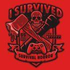 Survival Horror Crest by Brandon Wilhelm