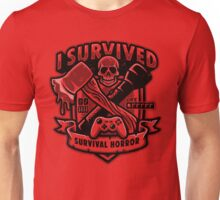Survival Horror Crest Unisex T-Shirt
