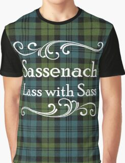 Sassenach Lass with Sass Graphic T-Shirt