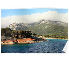 Trousers Point Flinders Island Poster