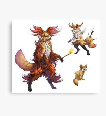 Realistic Pokemon T-shirt Canvas Print