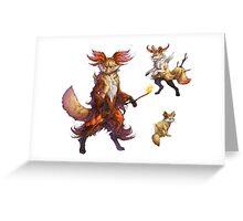 Realistic Pokemon T-shirt Greeting Card