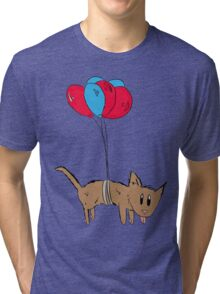 Ballon Animal Tri-blend T-Shirt