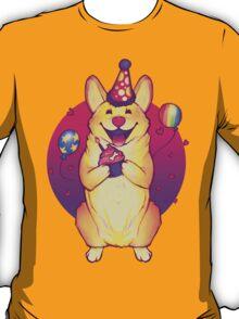 Birthday Corgi! T-Shirt