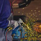 Welding by Freda Surgenor