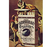 Vintage poster - Admiral Cigarettes Photographic Print