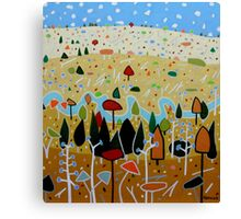 Whimsical Landscape 4. Canvas Print