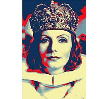 Greta Garbo in Queen Christina Photographic Print