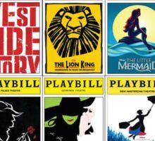 Broadway Greats Sticker
