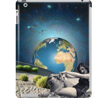 Earth bathing iPad Case/Skin