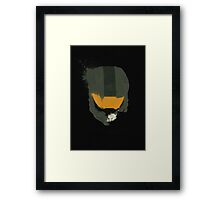 Spartans Never Die Framed Print