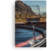 Through the Wine Glass Canvas Print