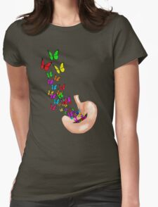 Got Butterflies! Womens Fitted T-Shirt