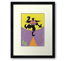 Mask Collector II - 64 Series Framed Print
