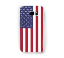 Anchor American flag Samsung Galaxy Case/Skin