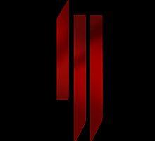 Skrillex - ill logo - Red by Everything EDM