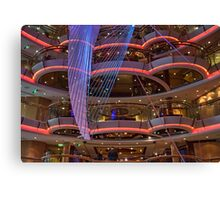 In the Centrum of Radiance of the Seas Canvas Print