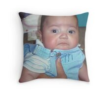 Frowny Face! Throw Pillow