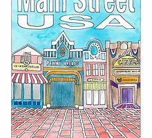 Main Street USA by Daogreer Earth Works