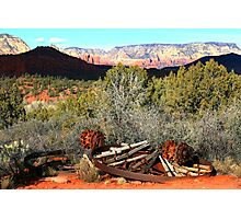 RED ROCK STATE PARK JANUARY 2008 Photographic Print