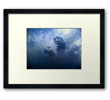 ©HCS The Funny Cloud Framed Print