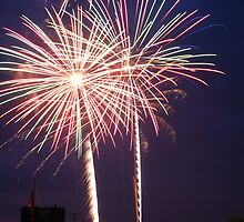 4th of July Fireworks  by Vonnie Murfin
