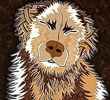 SEPIA DOG by Lisafrancesjudd