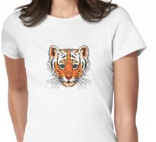 Tiger Cub Womens Fitted T-Shirt