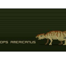 Pixel Aquilops by David Orr