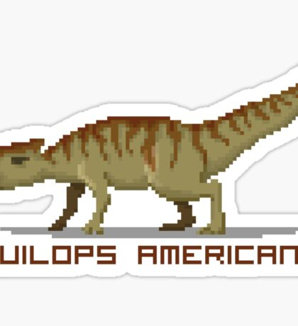 Pixel Aquilops Sticker