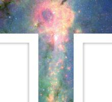 A Cross in the Stars Sticker