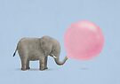 Jumbo Bubble Gum by Terry  Fan