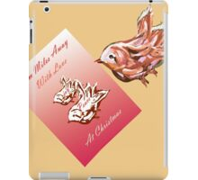 From miles away at Christmas iPad Case/Skin