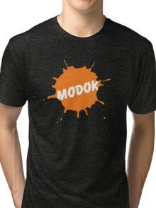 M.O.D.O.K. is a genius!! Tri-blend T-Shirt