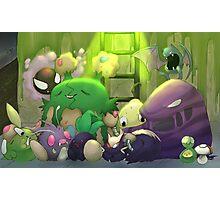 Poison Pokemon Photographic Print