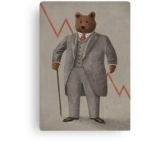 Bear Market  Canvas Print
