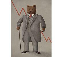 Bear Market  Photographic Print