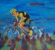 Cycling  by Belinda Galsworthy