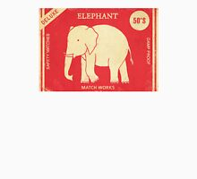 Elephant Safety Matches  Unisex T-Shirt