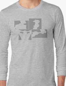 Cowboy Bebop Panels Long Sleeve T-Shirt