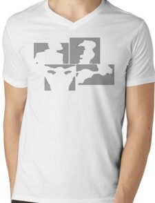 Cowboy Bebop Panels Mens V-Neck T-Shirt